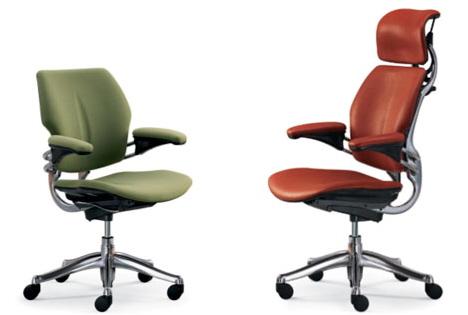Эргономичные офисные стулья Humanscale